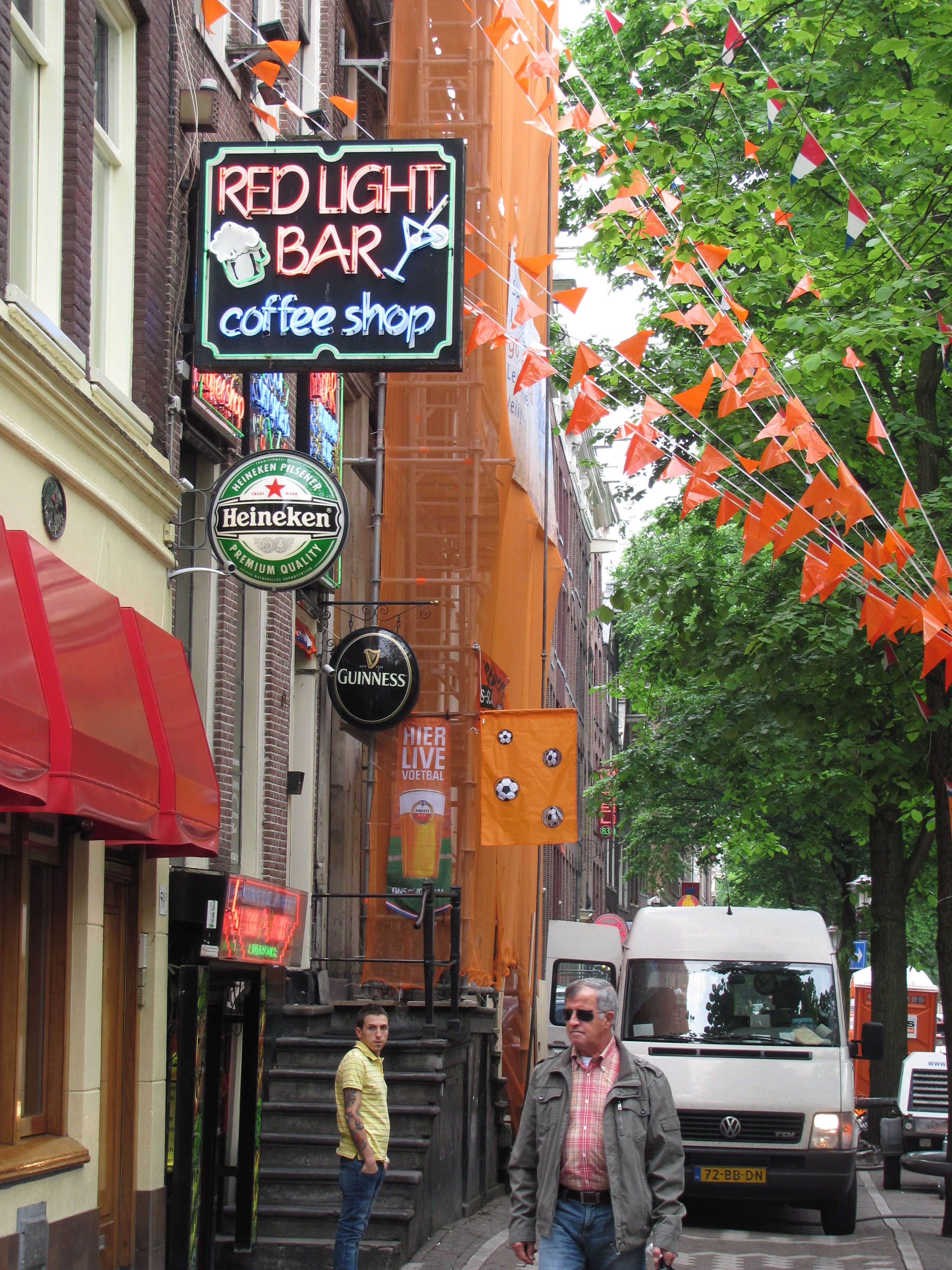 Peek Inside The World's Most Intriguing Red Light Districts